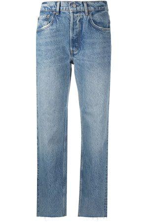 Boyish Jeans Mid-rise cropped leg jeans