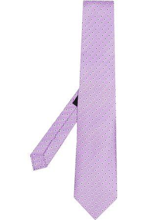 Etro Men Bow Ties - Paisley-jacquard silk tie