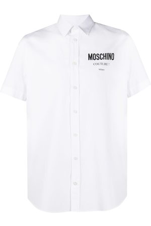 Moschino Logo-print short-sleeve shirt
