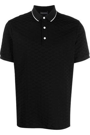Emporio Armani Logo embroidered polo shirt