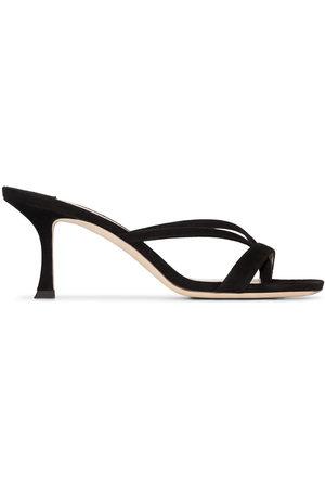 Jimmy Choo Maelie 70mm suede sandals