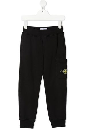 Stone Island Logo-patch track trousers