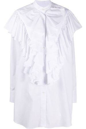 Ami Extra ruffled long sleeved shirt