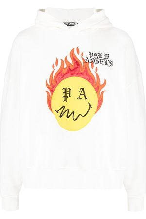Palm Angels Burning head hoodie