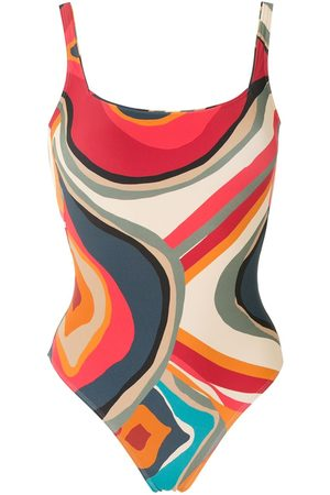 Lygia & Nanny Hapuna printed swimsuit - Multicolour