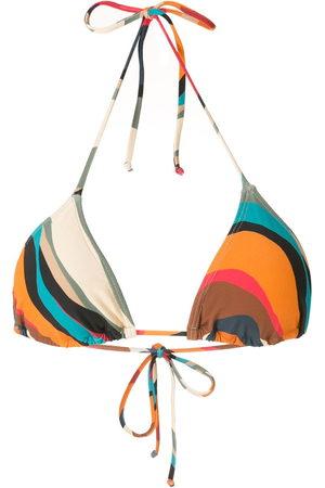 Lygia & Nanny Liso printed bikini top - Multicolour