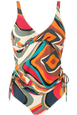 Lygia & Nanny Bruma printed tankini - Multicolour