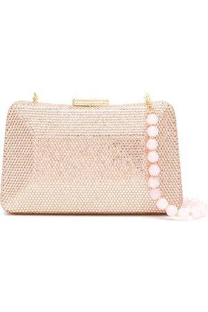 SERPUI Mirela clutch bag with crystals