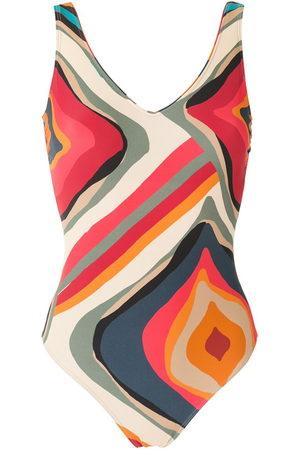 Lygia & Nanny Laila printed swimsuit - Multicolour