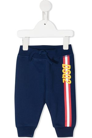 Dsquared2 Logo stripe-print track pants