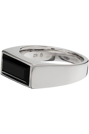 TOM WOOD Men Rings - Peaky onyx 925 ring