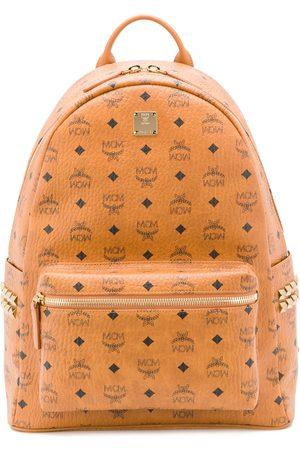 MCM Rucksacks - Stark studded monogram backpack