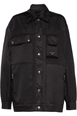 Prada Women Coats - Gabardine blouson jacket