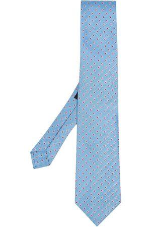Etro Paisley-jacquard silk tie