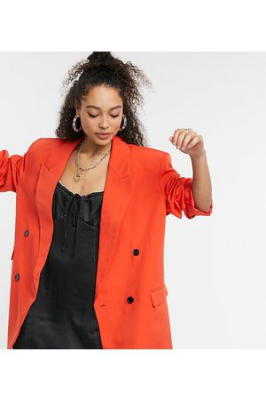 COLLUSION Blazers - Oversized double breasted dad blazer in