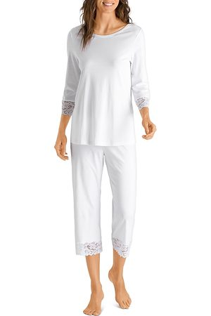 Hanro Moments Cropped Pajama Set