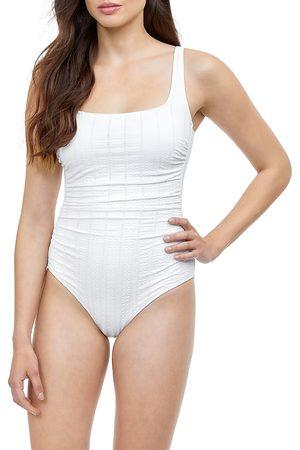 gottex Textured One Piece Swimsuit