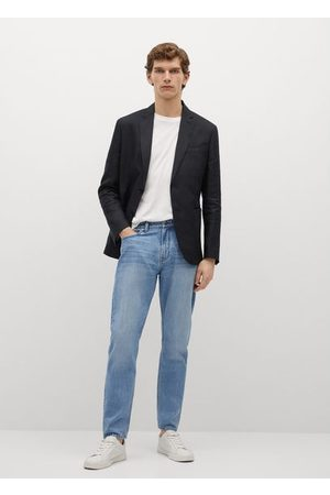 MANGO 100% linen blazer