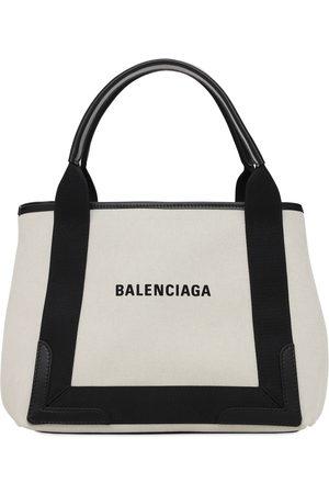 Balenciaga Women Tote Bags - Sm Navy Canvas Bag