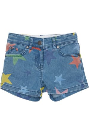 Stella McCartney Stretch Shorts W/ Star Print