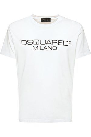 Dsquared2 Printed Cool Fit Cotton Jersey T-shirt