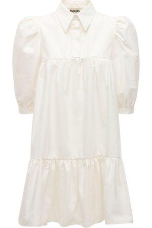 AVAVAV Women Casual Dresses - Lvr Exclusive Cotton Blend Shirt Dress