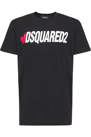 Dsquared2 Logo Print Light Cotton Jersey T-shirt