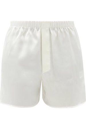Ludovic De Saint Sernin Silk-satin Boxer Shorts - Womens