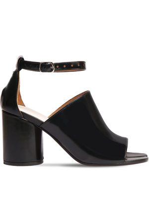 Maison Margiela 80mm Tabi Brushed Leather Sandals