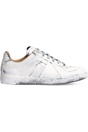 Maison Margiela Women Sneakers - 20mm Replica Vintage Leather Sneakers