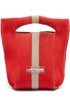 LASTFRAME Two-tone Rib-knit Bag - Womens - Multi