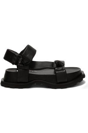 Jil Sander Women Sandals - Chunky-sole Leather Sandals - Womens
