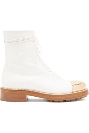 GABRIELA HEARST Riccardo Toe-cap Leather Boots - Womens