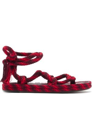Isabel Marant Erol Rope Sandals - Womens - Multi