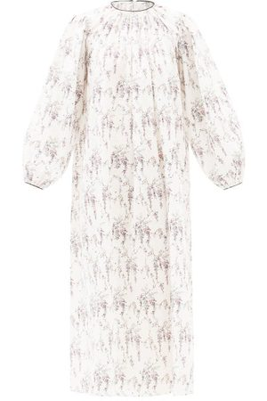 EMILIA WICKSTEAD Women Nightdresses & Shirts - Theodora Floral-print Cotton Nightdress - Womens - Print