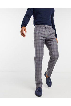 Ted Baker Dorlnt slim-fit debonair check smart pants