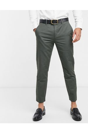Ted Baker Chinos - Cliftro dyed cotton cropped pants