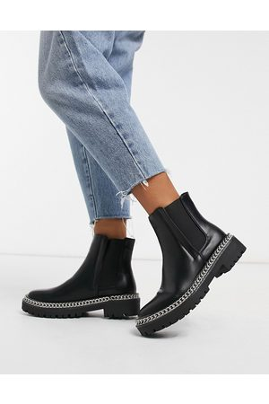 Truffle Collection Women Chelsea Boots - Chunky chelsea boots in
