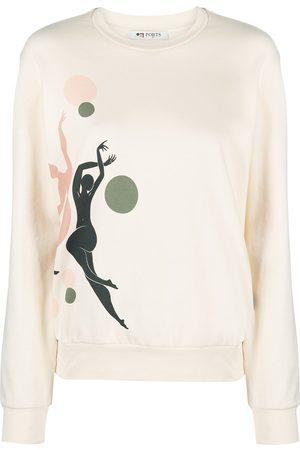 PORTS 1961 Nude figure print sweatshirt