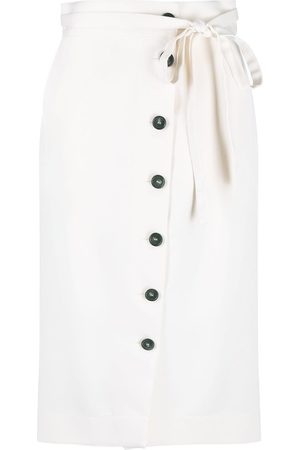 PORTS 1961 Women Skirts - Button-up wrap skirt - Neutrals