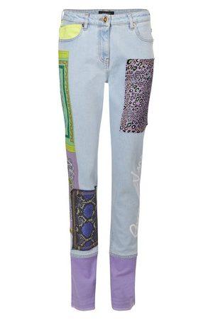 VERSACE Women Pants - Denim trousers