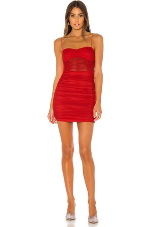 superdown Kambella Ruched Mini Dress in .