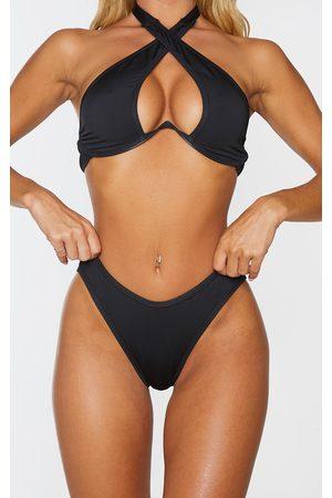 PRETTYLITTLETHING High Leg Bikini Bottoms