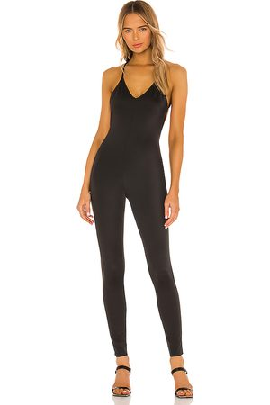 Norma Kamali Women Jumpsuits - Low Back Fara Slip Catsuit in .