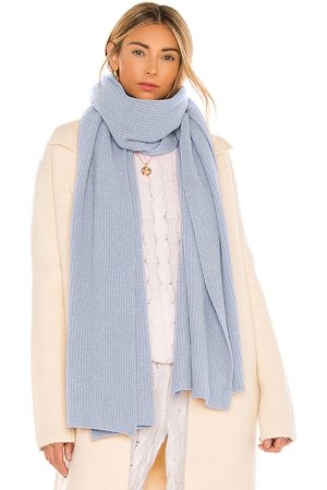 Ganni Scarf in Baby Blue.