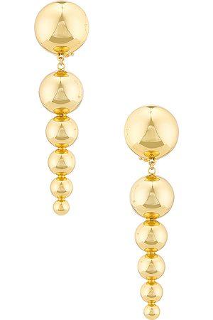 LPA Lelia Earring in Metallic Gold.
