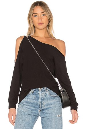 Lanston One Shoulder Pullover in .