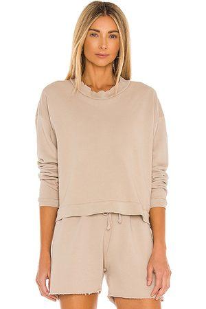 LnA Cropped Sweatshirt in Grey.