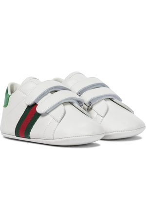 Gucci Baby Web leather sneakers
