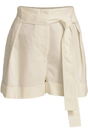 3.1 Phillip Lim Women's Tie-Waist Shorts - Antique - Size 6